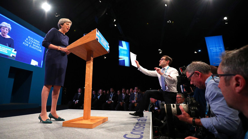Theresa May prankster won't face charges… but how did security let comedian get so close to PM?