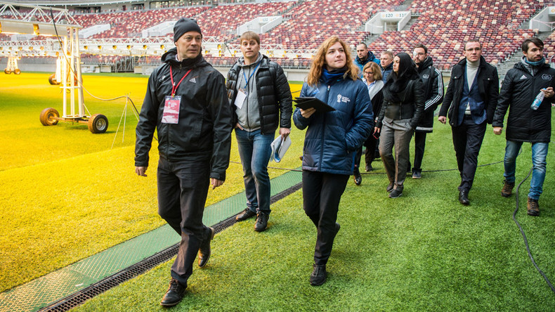 FIFA's 6th operational visit to Russia 'fruitful & productive' – events officer
