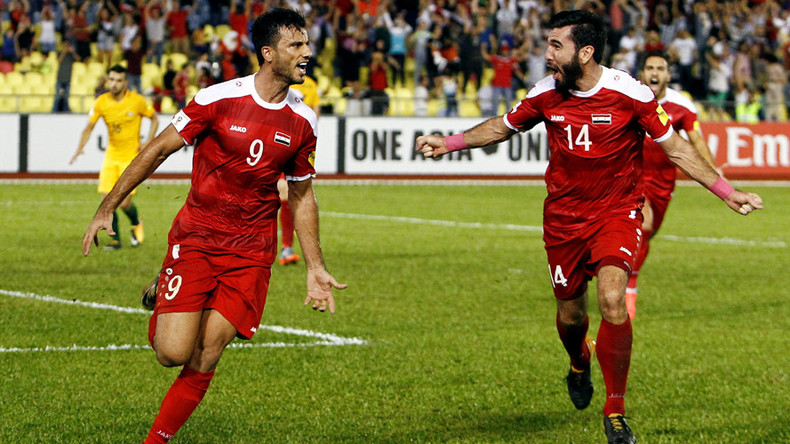 Syria fight back against Australia to keep World Cup dream alive