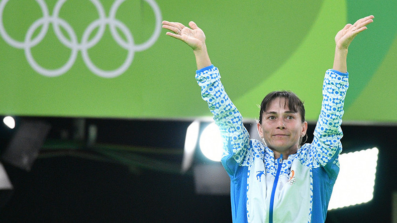 42-year-old female artistic gymnast advances to vault final at world championships