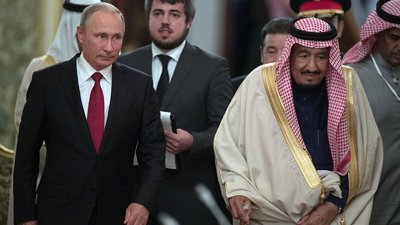Russia & Saudi Arabia sign billion dollar deals during King's visit