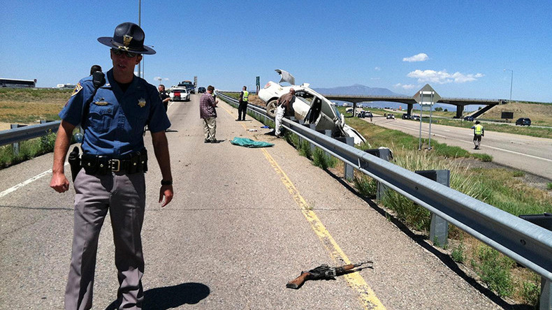 Car crash deaths reach decade high in US – study
