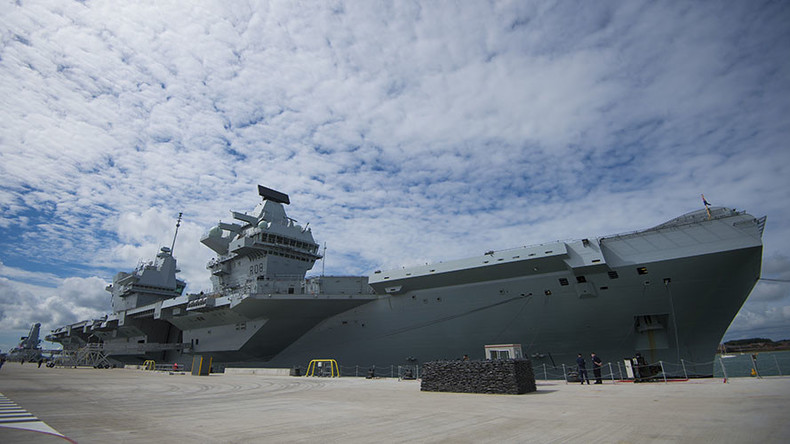 Britain on North Korea war footing, could rush new aircraft carrier into service