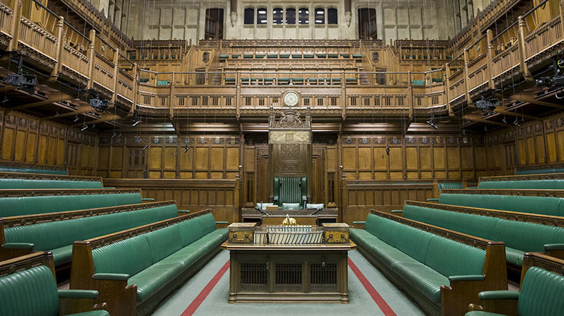 UK parliament proposes new 'backup' House of Commons chamber in case of terror attack or fire
