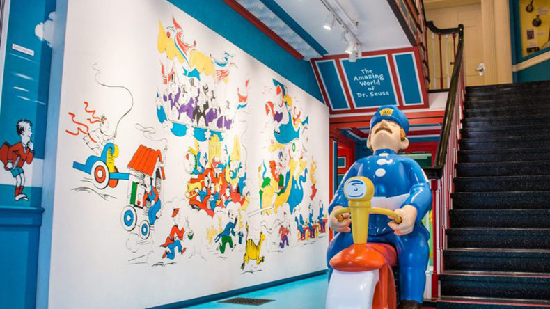Dr Seuss 'racist'? Museum vows to remove mural by celebrated author amid 'PC gone mad' cries