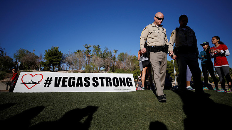 Las Vegas shooter fired at fuel tanks as part of escape plan, sheriff says