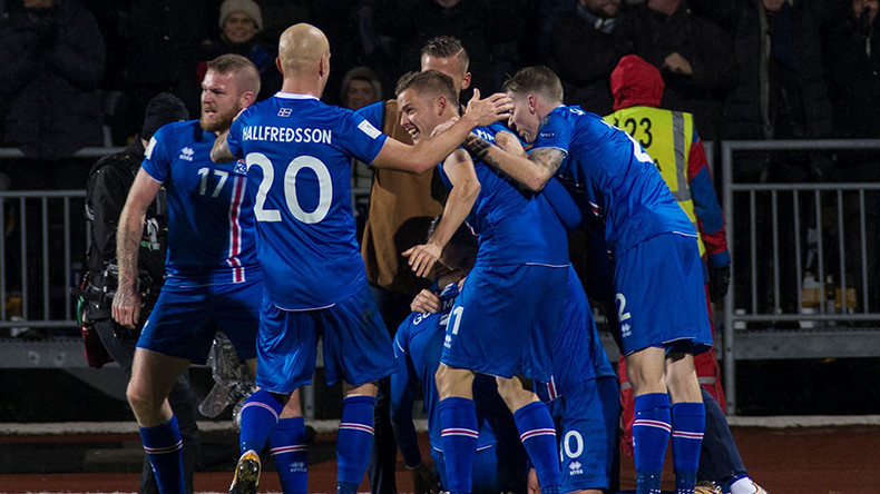 Russia 2018: Iceland become smallest nation ever to reach World Cup finals