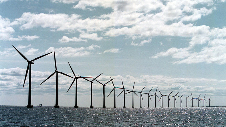 Giant Atlantic wind farms could power entire world – study