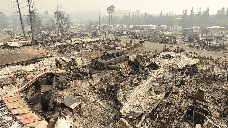 17 dead as wildfires rage in Northern California