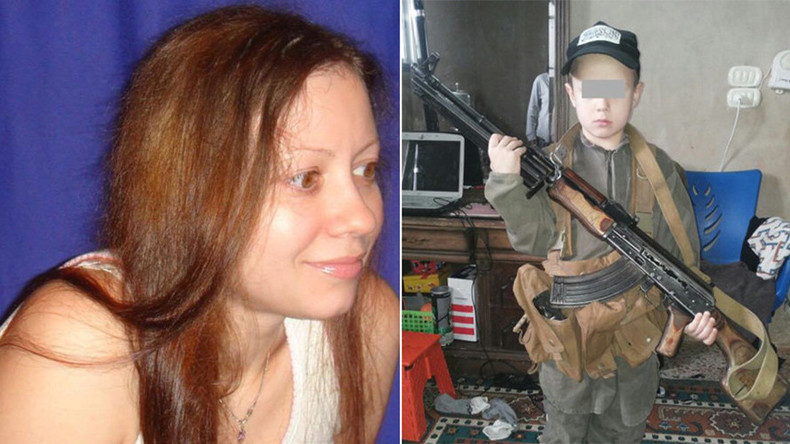 From estate agent to IS recruiter: How woman became 'different person' & kidnapped her son