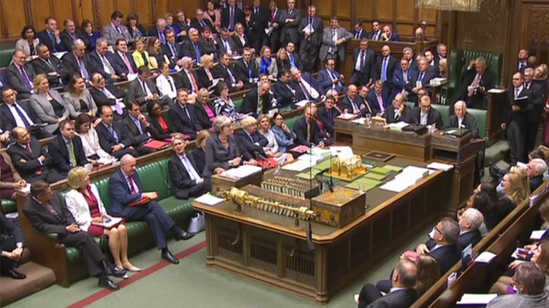 PMQs: Corbyn and May fight over poor people