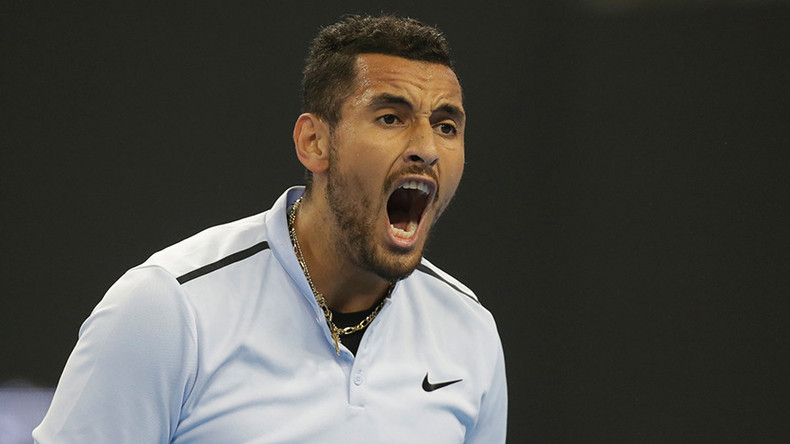 Tennis bad boy Kyrgios loses $31K after quitting match at Shanghai Masters