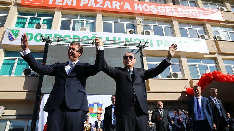 Serbian FM sings in Turkish during Erdogan's visit (VIDEO, PHOTO)
