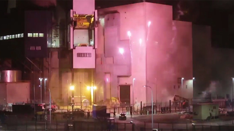 Greenpeace activists break into French nuclear plant, set off fireworks (VIDEOS)