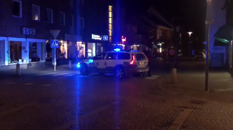 Multiple people injured in shooting at Swedish market