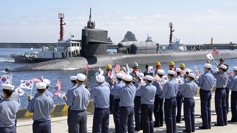 US nuke sub arrives in South Korean port amid tensions on peninsula