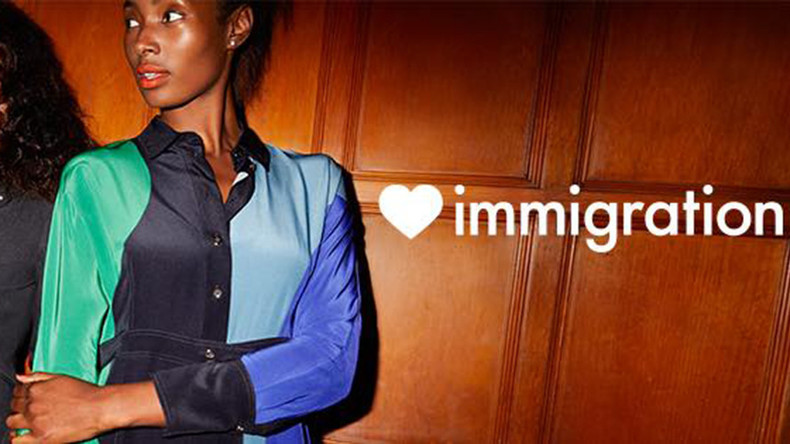 'No such thing as 100% British': Fashion chain Jigsaw splits opinion with pro-immigration ads