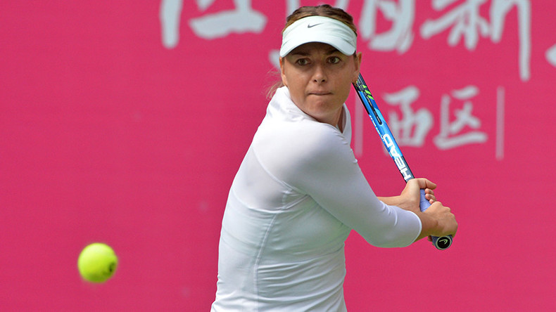 Maria Sharapova advances to semifinal of Tianjin Open