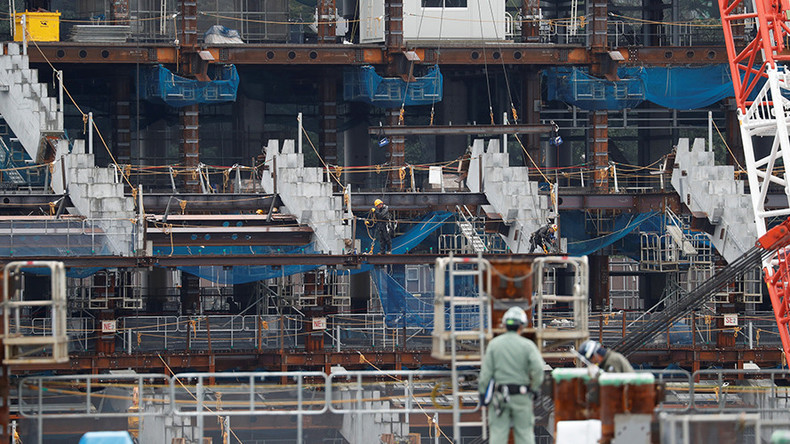 Japan vows to stamp out 'death by overwork' while building 2020 Tokyo Olympics stadium