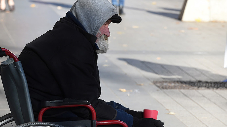 Rough sleeping among elderly people doubles in 7 years - official stats