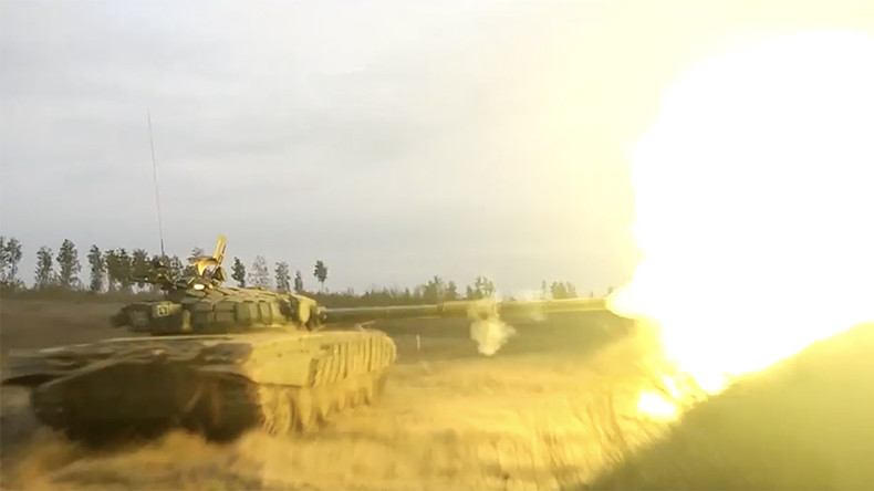Watch Russian infantry capture mock town amid live-fire drills   %Post Title