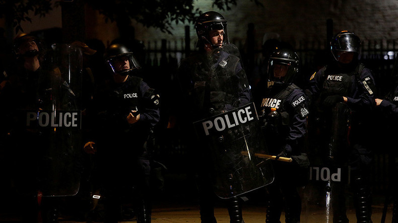 Fresh Ferguson arrests as #SLVerdict protest reaches one month mark