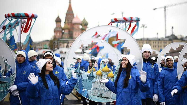 Opening ceremony of the 19th World Festival of Youth and Students in Sochi 30