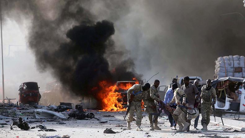 Nearly 190 killed in massive explosion in Somali capital