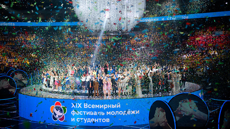 'United by the power of a dream': World Youth Festival opens in Sochi, Russian Federation  %Post Title