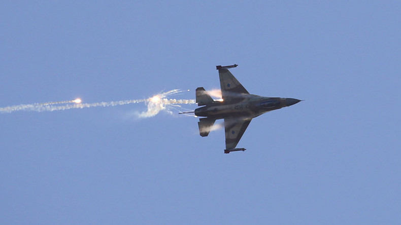 Israeli jets 'hit Syrian anti-aircraft battery' after alleged attack