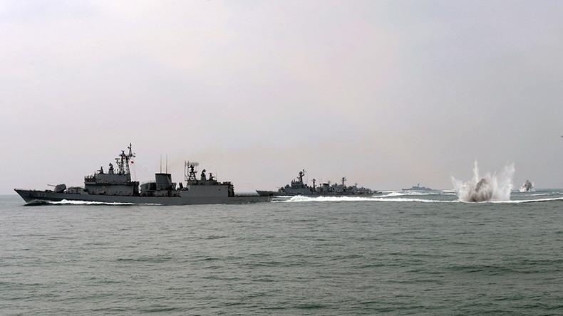 US, South Korea begin naval drills off Korean Peninsula