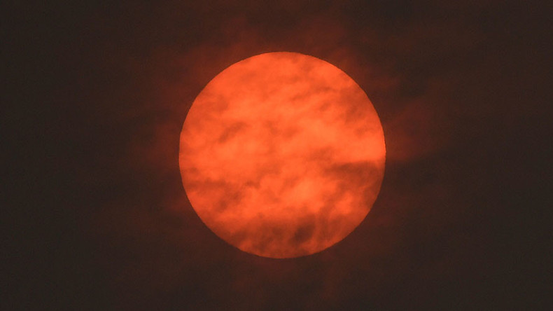 Impending doom? 'Eerie' red sun linked to #StormOphelia freaks out Twitter