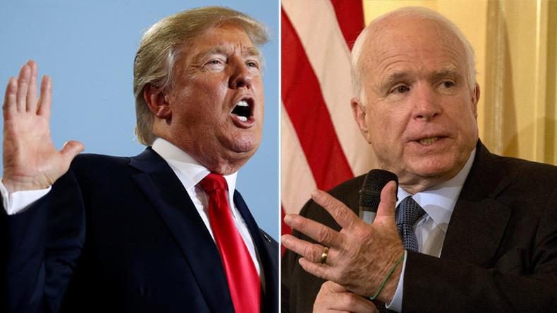 'It won't be pretty': Trump & McCain at each other's throats again