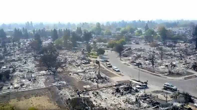 No drones! Operator arrested for obstructing California firefighters