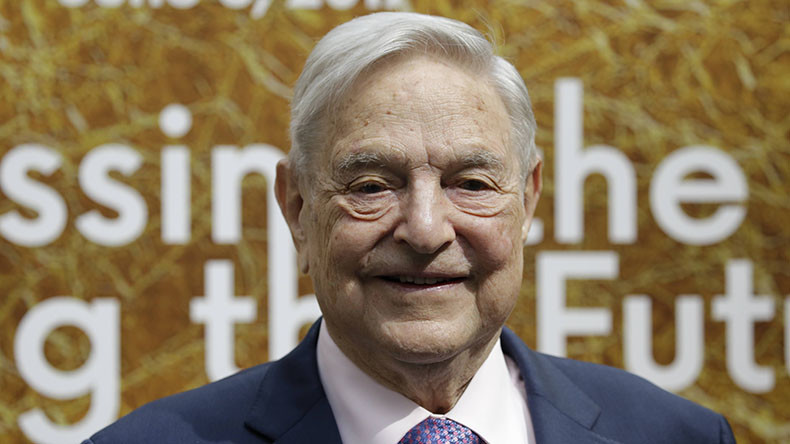 Tycoon George Soros transfers $18bn to his Open Society Foundations