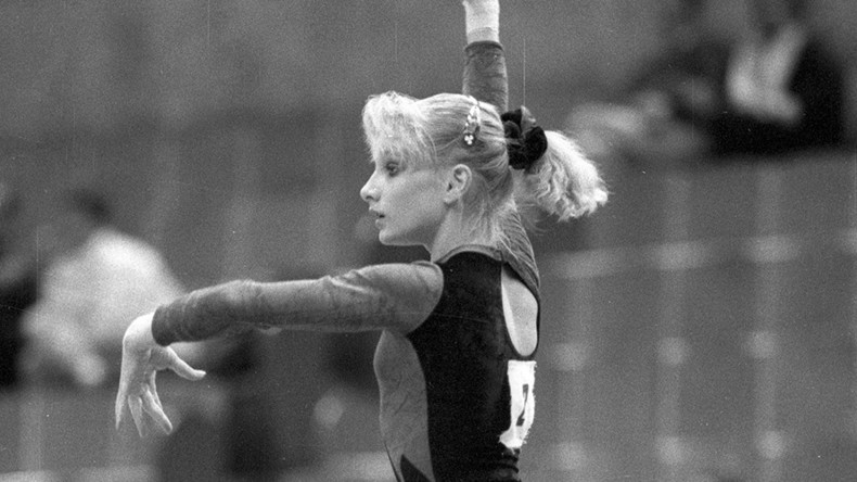Soviet double-Olympic champion gymnast accuses 'monster' former teammate of rape