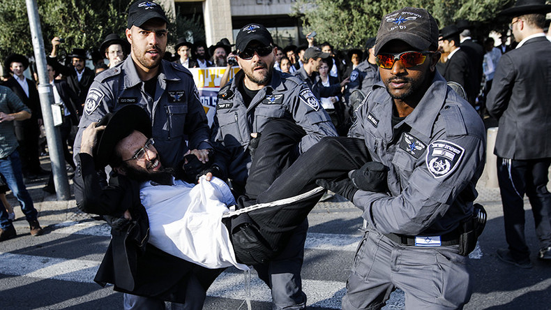 At least 58 arrested in ultra-Orthodox protests against Israeli military draft (VIDEOS)  %Post Title