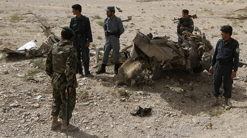 Attack on Afghanistan military base kills at least 43 servicemen  %Post Title