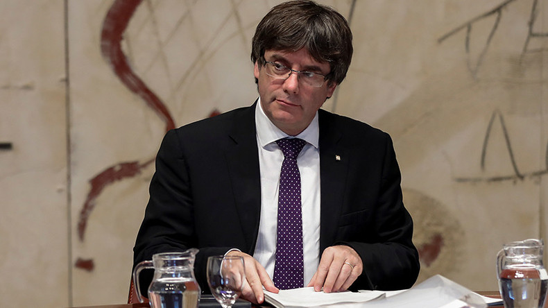 Catalonia leader threatens to declare independence if Spanish govt suspends autonomy