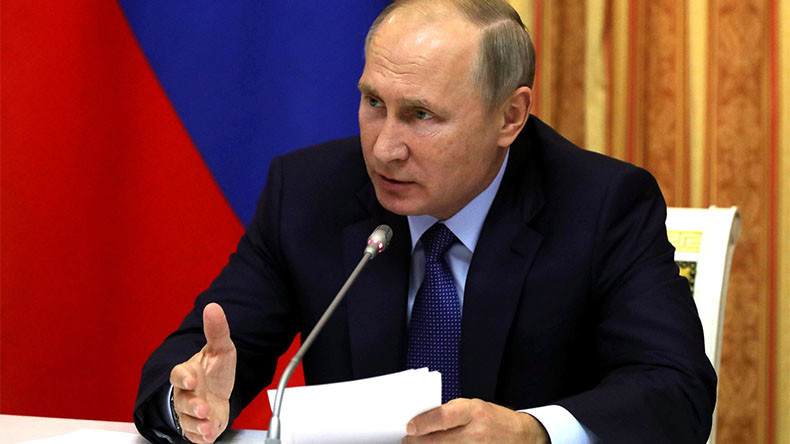 Russia's Putin calls for gradual reform of UN