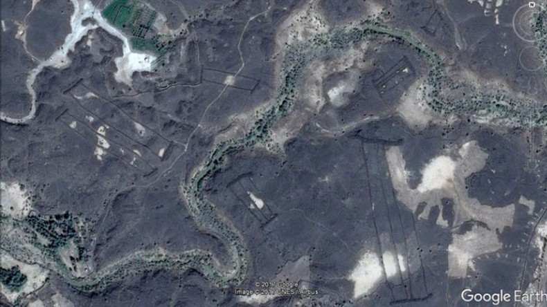 Ancient lava field walls mystify archaeologists in Saudi Arabia (VIDEO)