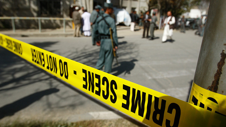 Afghan official says 33 died at Sunni mosque