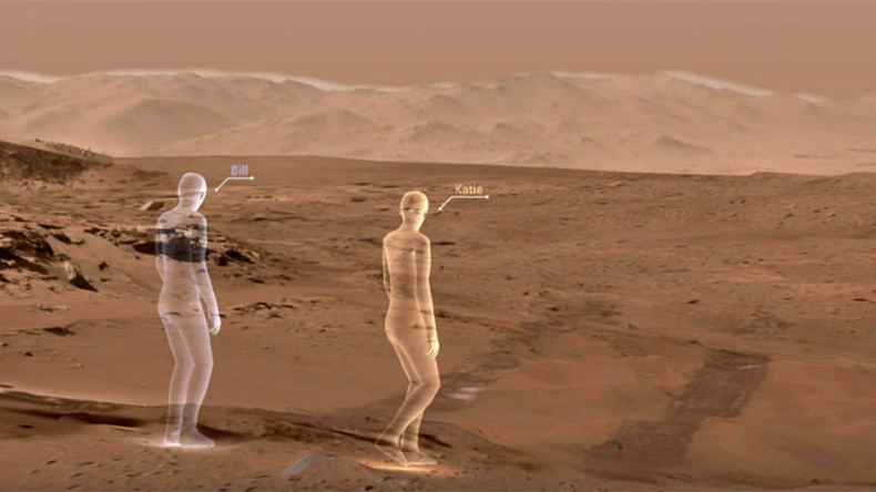 Armchair Astronauts Walk Desolate Mars Trails With New