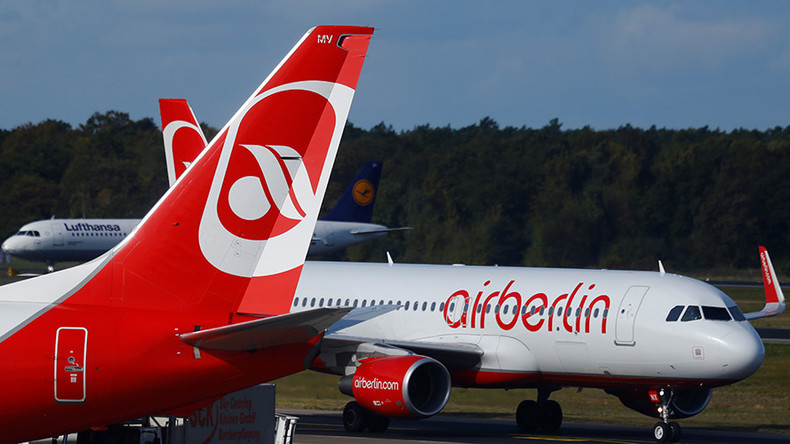 Air Berlin plane blocked from take-off over unpaid bills