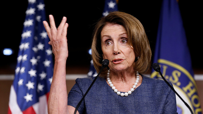 Pelosi cites being a woman as reason not to give up House leadership role