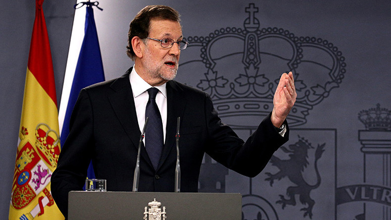 Spanish PM: Powers of Catalan administration will be transferred to central government