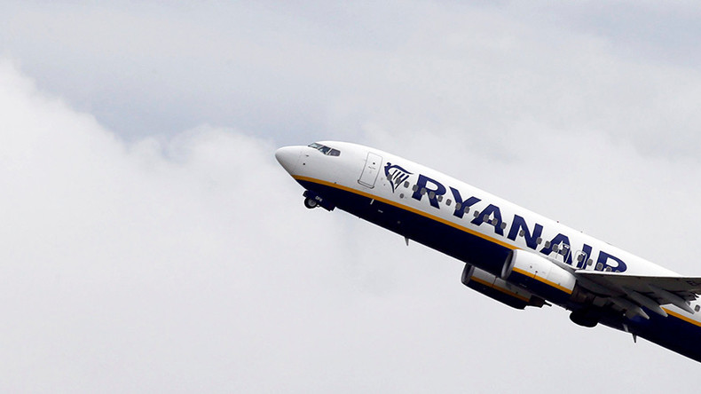 #StormBrian causes nail-biting landing for Ryanair flight (VIDEO)