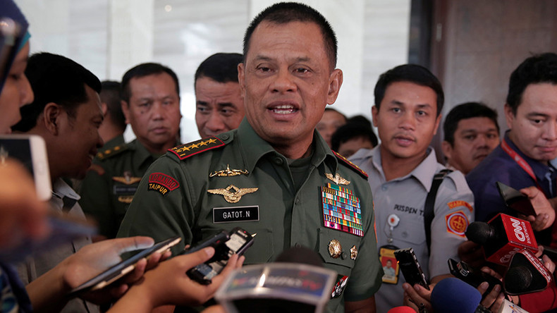 Indonesian military chief invited to US, then barred from entering at last minute