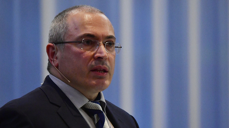 Putin critic Khodorkovsky speaks out against boycott of presidential polls