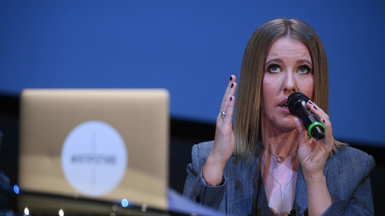 'Crimea is Ukrainian territory' – It girl-turned-presidential candidate Sobchak outlines her program